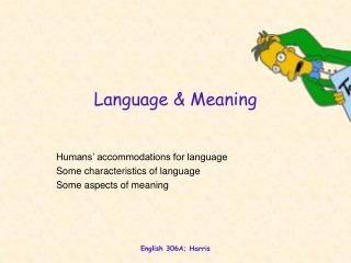 Language & Meaning
