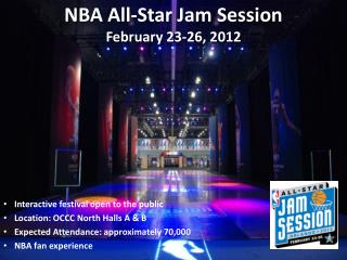 NBA All-Star Jam Session February 23-26, 2012
