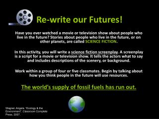 Re-write our Futures!