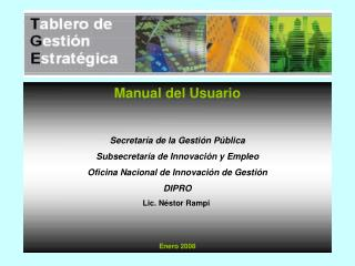 Manual del Usuario Enero 2008