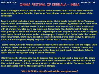 Stock photo of south indian festival onam wishes background.