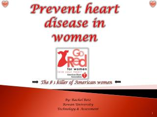 Prevent heart disease in women