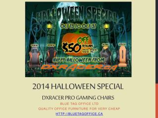 Halloween Special on Professional Gaming Chairs