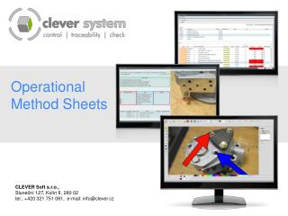 Operational Method Sheets