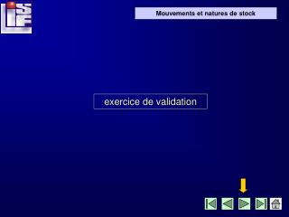 exercice de validation