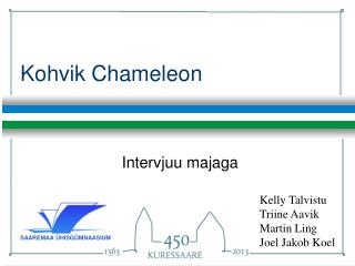 Kohvik Chameleon