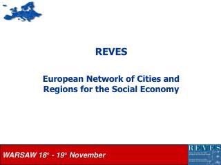 REVES European Network of Cities and Regions for the Social Economy