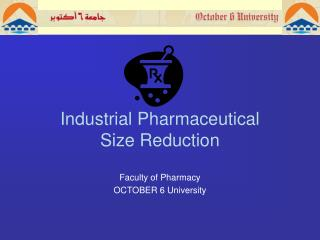 Industrial Pharmaceutical  Size Reduction