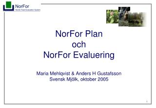 NorFor-systemet!