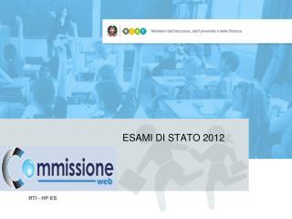 ESAMI DI STATO 2012
