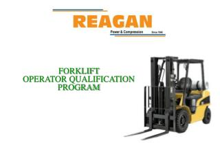 FORKLIFT  OPERATOR QUALIFICATION PROGRAM