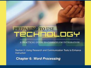 Chapter 6:  Word Processing