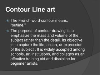 Contour Line art