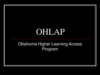 OHLAP