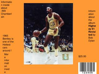 Information inside about .Wilt Chamberlain