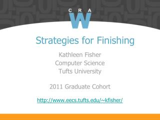 Strategies for Finishing