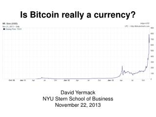 Is Bitcoin really a currency?
