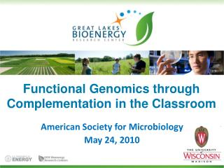 Functional Genomics through Complementation in the Classroom