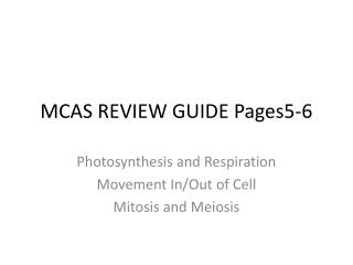 MCAS REVIEW GUIDE Pages5-6