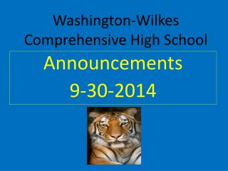 Washington-Wilkes Comprehensive High School