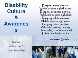 Disability Culture & Awareness