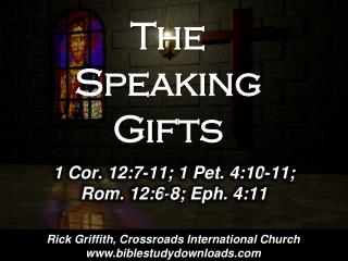 The Speaking Gifts