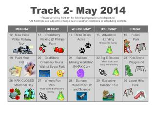 Track 2 Calendar May 2014