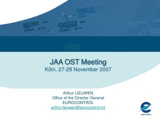 EUROCONTROL and JAA Cooperation