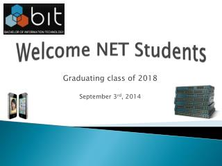 Welcome NET Students