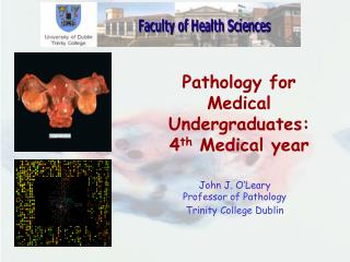 Pathology for Medical Undergraduates: 4 th  Medical year