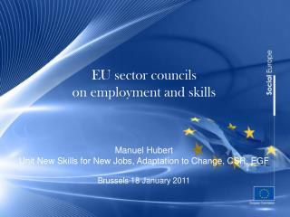An agenda for new skills and jobs