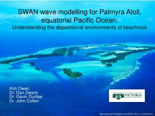 SWAN wave modelling for Palmyra Atoll, equatorial Pacific Ocean: