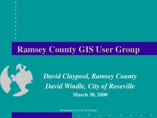 Ramsey County GIS User Group