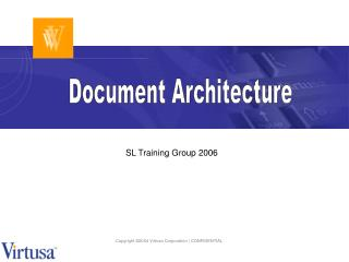 Document Architecture