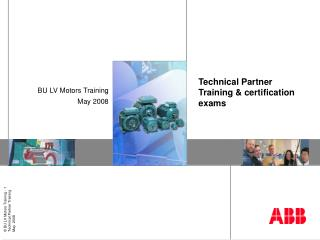 Technical Partner Training & certification exams