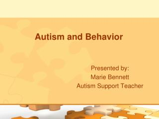 Autism and Behavior