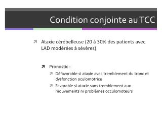 Condition conjointe au TCC