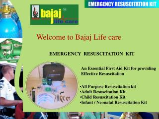 Welcome to Bajaj Life care