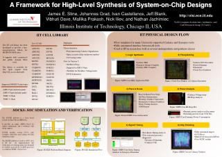 A Framework for High-Level Synthesis of System-on-Chip Designs