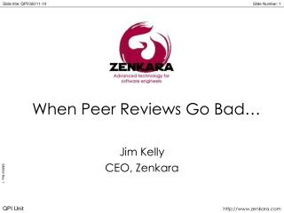 When Peer Reviews Go Bad…