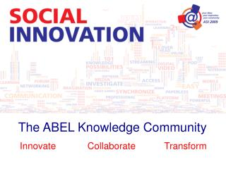 The ABEL Knowledge Community
