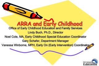 ARRA and Early Childhood