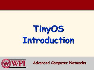 TinyOS Introduction