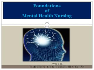 Foundations of Mental Health Nursing