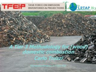A Tier 3 Methodology for (wood) domestic combustion  Carlo Trozzi