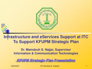 KFUPM Strategic Plan Presentation