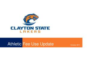 Athletic Fee Use Update
