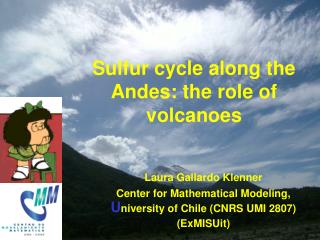 Sulfur cycle along the Andes: the role of volcanoes