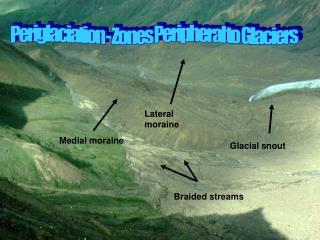 Glacial snout