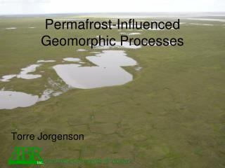 Permafrost-Influenced Geomorphic Processes
